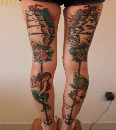 leg tattoos for girls leg tattoos for