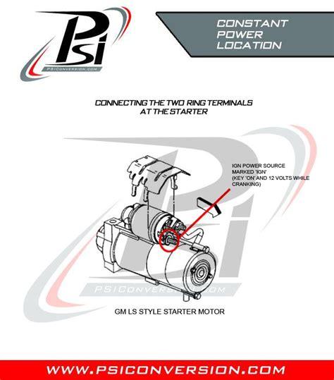 ls1 starter wiring diagram efcaviation