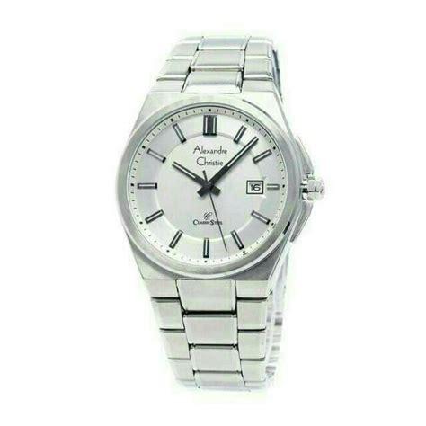 Alexandre Christie 8506 Silver jam tangan wanita alexandre christie ac 8506 silver white