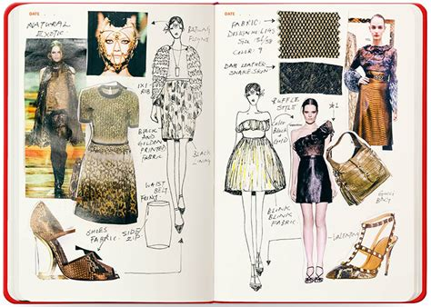 fashion design referenced fashion sketchbook mr fatta