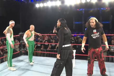 house of hardcore despite the spirit squad s best efforts the broken hardyz