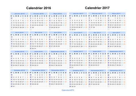 Calendrier Planning 2016 2017 Calendrier 2016 2017 224 Imprimer Gratuit En Pdf Et Excel