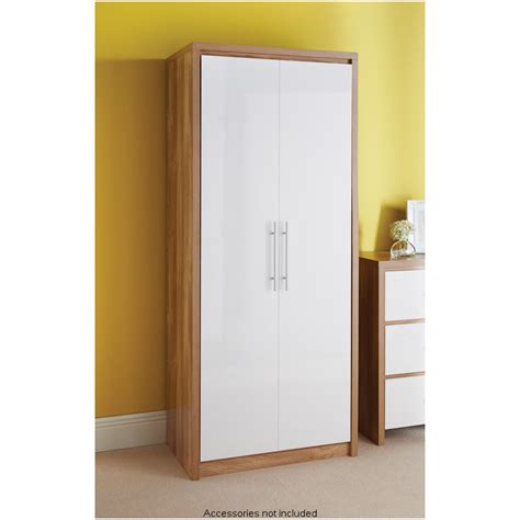 Wardrobe With 2 Doors by Home Furniture Furniture Free Delivery Units Drawers Ebay