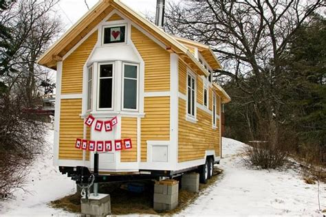 houses with small windows tiny house with bay window tiny house on wheels pinterest