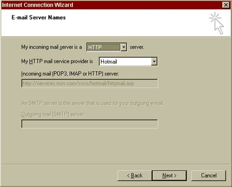 Handcrafted Software - i2021 setting up outlook express to access hotmail
