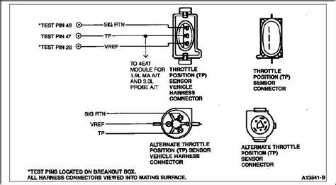 Throttle Position Sensor Wiring Diagram 2004 Ford Mustang 3 9