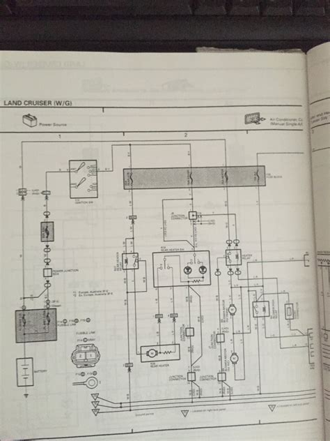 hilux air conditioning wiring diagram wiring diagram