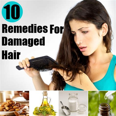 effective home remedies for damaged hair diy home