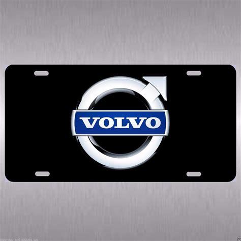 volvo aluminum vanity license plate tag xc xc    xc    license plate