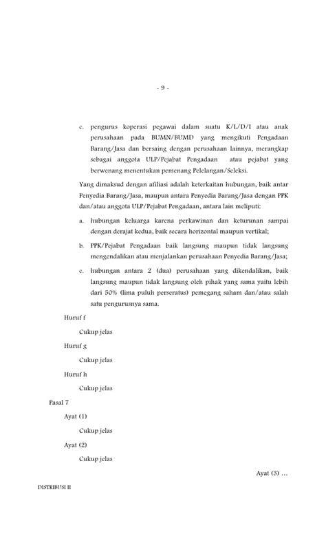 penjelasan layout perusahaan penjelasan atas peraturan presiden nomor 54 tahun 2010
