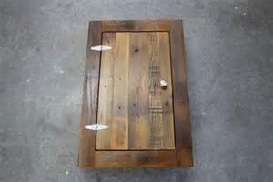 reclaimed wood medicine cabinet rustic reclaimed cedar medicine cabinet or spice cabinet in