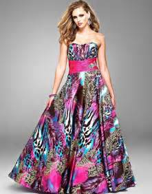 prom dress colors 187 multi color prom dresses 2 at in seven colors colorful