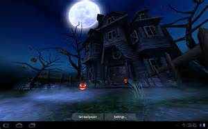 haunted house hd live wallpaper just in time for