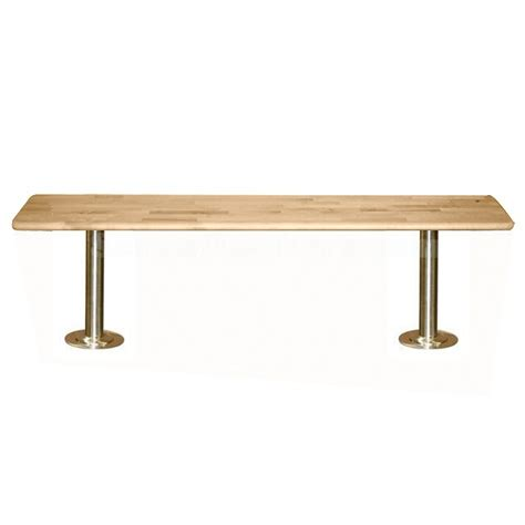 wood locker room benches locker room benches with stainless steel pedestals