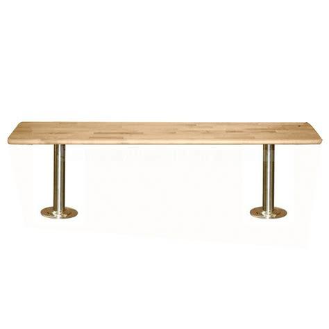 locker room bench locker room benches with stainless steel pedestals