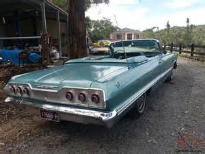 Chevrolet Impala Convertible For Sale 1963 Chevrolet Impala Ss Convertible In Narre Warren