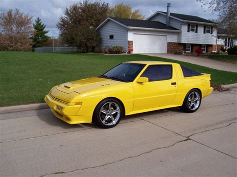 chrysler conquest yellow highlyboosted 1989 chrysler conquest specs photos