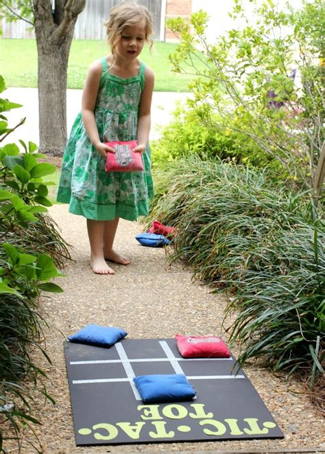 backyard bean bag toss game tic tac toe backyard bean bag toss pinkwhen