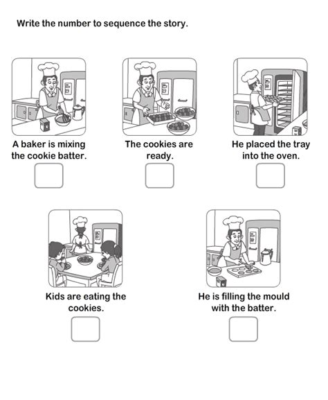 Sequencing Worksheets 2nd Grade by Story Sequencing Worksheets 2nd Grade