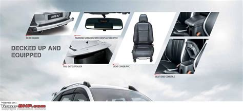 Honda Brv Cover Premium Durable Black with honda in japan br v preview more edit br v launched page 27 team bhp