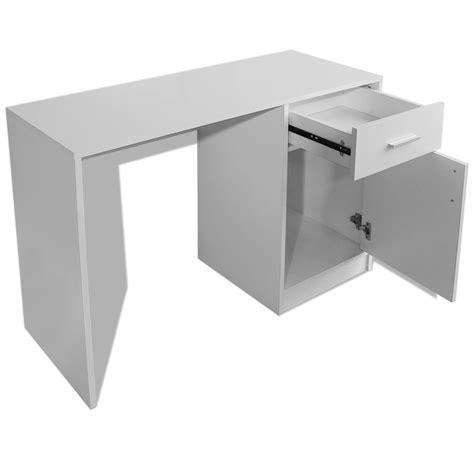 tiroir placard acheter vidaxl bureau avec tiroir et placard 100x40x73 cm