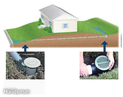 drainage backyard how to achieve better yard drainage the family handyman