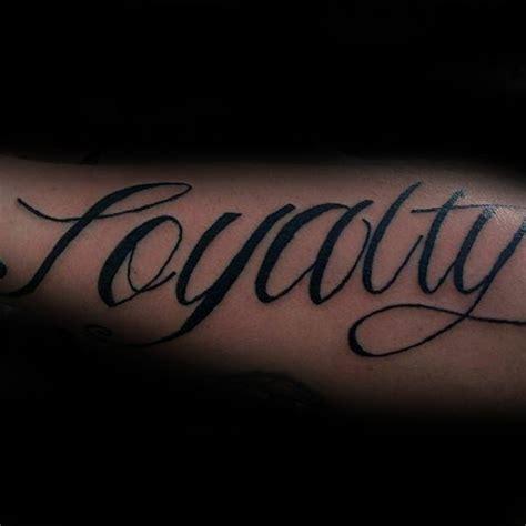 loyalty tattoo on forearm 50 loyalty tattoos for faithful ink design ideas