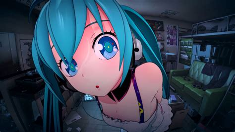 wallpaper anime hatsune miku anime hd computer wallpaper wallpapers collection