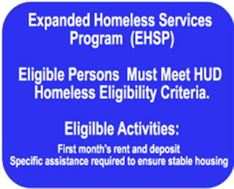 Homeless Prevention And Rapid Re Housing Program by Homeless Ehsp Hprp Capital Area Community Services