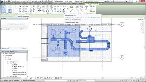 tutorial hvac design mechanical create and label hvac plans