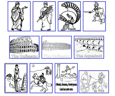 Roman Coloring Pages To Print Coloring Home Ancient Rome Printable Coloring