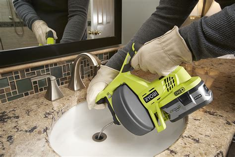 Diy Plumbing Snake by Ryobi P4001 18v One Drain Auger Preview Pro Tool Reviews