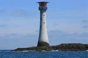 solar lighthouse light the smalls lighthouse pembrokeshire