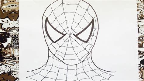 imagenes de spiderman para dibujar faciles como dibujar al hombre ara 241 a how to draw spiderman
