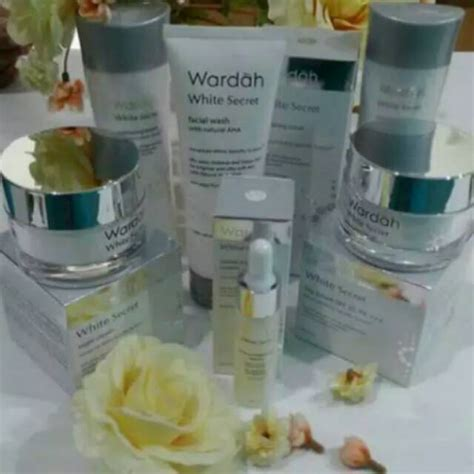 Harga Wardah White Secret Botol paket wardah white secret series shopee indonesia