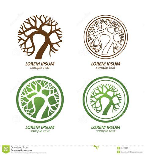 Tree Logo Stock Vector Image 55471967 Green Circle Tree Vector Logo Design Stock Vector 235140895