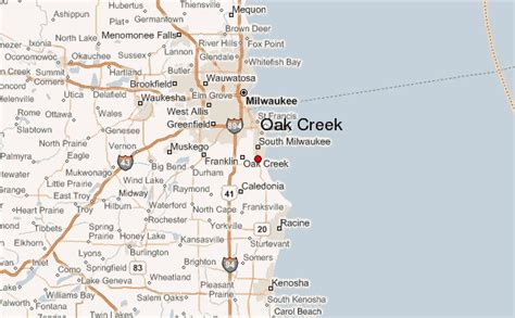 Oak Creek Location Guide