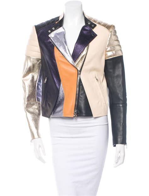 Patchwork Leather Jacket - 3 1 phillip lim patchwork leather jacket jackets
