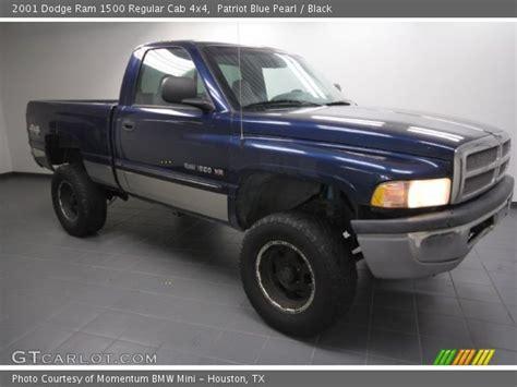 2001 dodge ram 1500 interior patriot blue pearl 2001 dodge ram 1500 regular cab 4x4