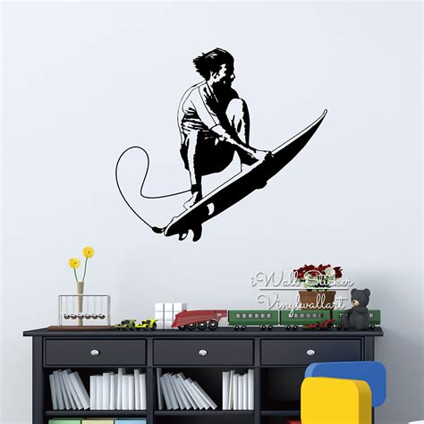 surf wall stickers popular surf wall stickers buy cheap surf wall stickers lots from china surf wall stickers