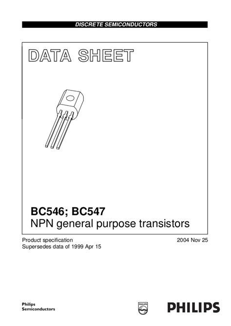 smd bc547 transistor datasheet datasheet bc547