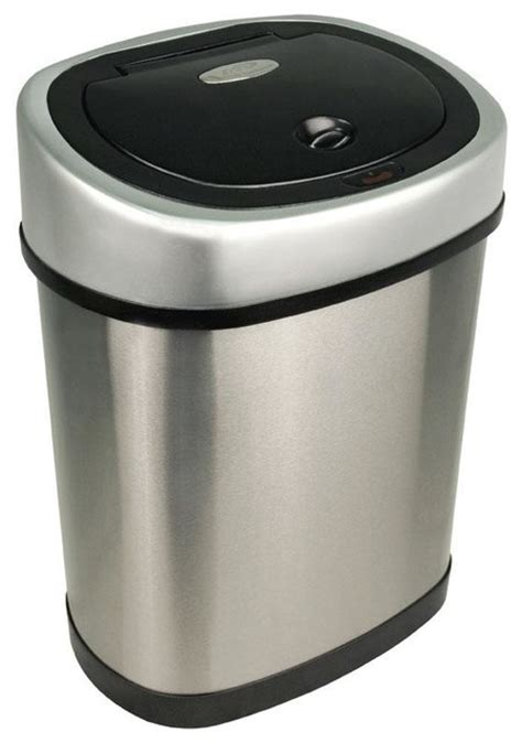 Modern Bathroom Trash Can by Bathroom Motion Detector Trash Can Modern Wastebaskets