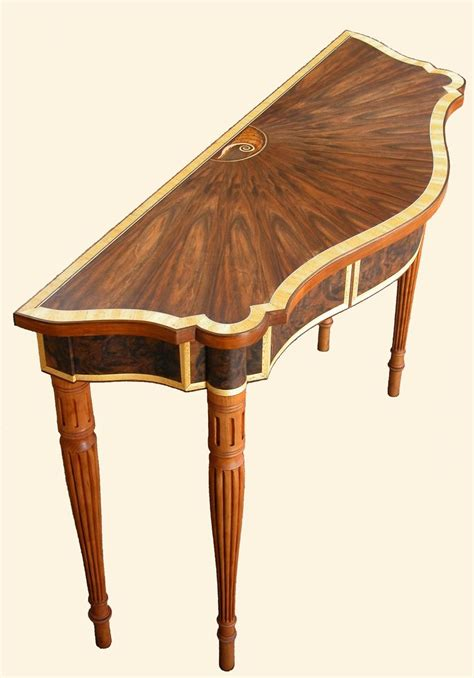 Handmade Furniture Boston - custom made boston federal table by heller and heller