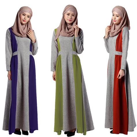 desain long dress women islamic muslim middle east long dress ethnic