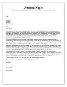 real estate cover letter exles