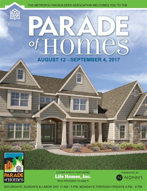 Mba Parade Of Remodeled Homes by 2017 Mba Parade Of Homes Plan Book By Detour Marketing Issuu