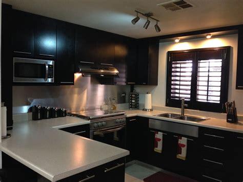 Cheap Kitchen Backsplash Tiles Cocina Integral Color Caf 233 Chocolate Ideas Para Tu