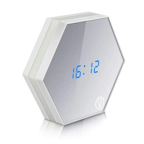 sveglie da comodino specchio multifunzionale orologio elettronico digitale