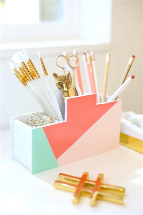 diy desk organizer diy back to school desk organizer lovely indeed