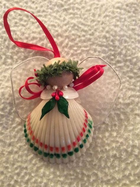 christmas crafts with shells shell handmade ornament crafts kitsch tree